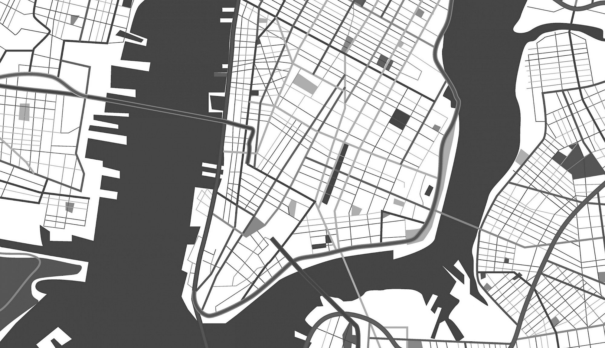 Lower Manhattan Map
